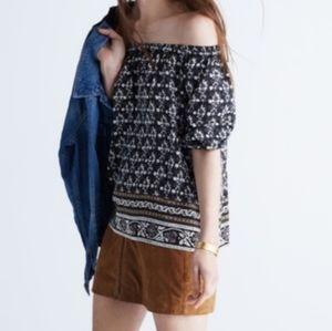MADEWELL garden house silk blouse